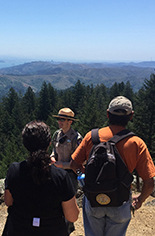 Mount Tam State Park Rangers give a program in Spanish