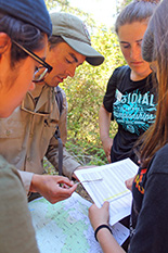 LINC Tam students learn about Marin County Parks