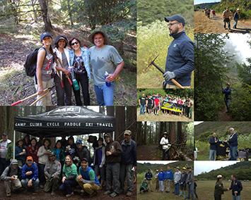Trails Day Volunteers