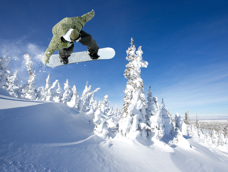Snowboarder at Heavenly Mountain Resort, http://mogultheory.com/