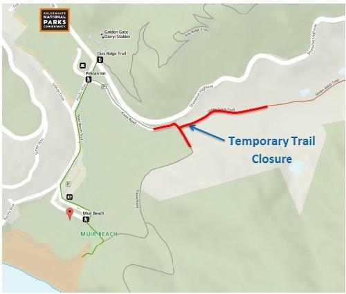 green gulch trail closure map